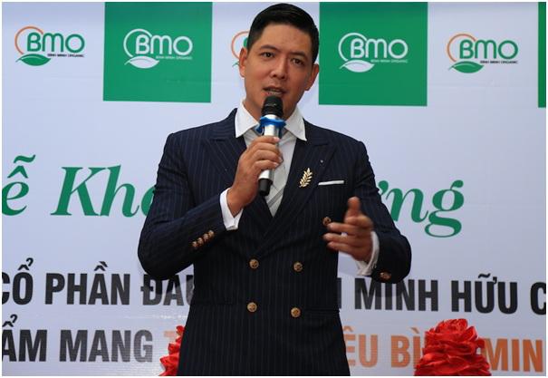 Diễn viên Bình Minh thành lập công ty thực phẩm organic